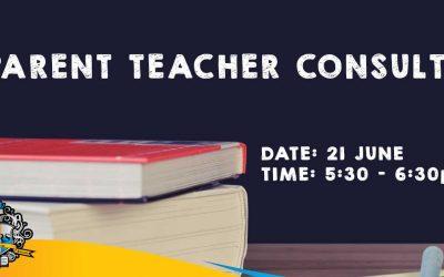 Parent Teacher Consults 21 June