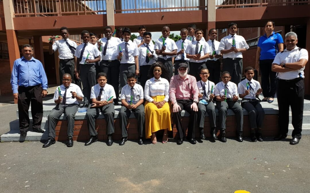 2021 Boys prefect induction for the Senior and FET phase