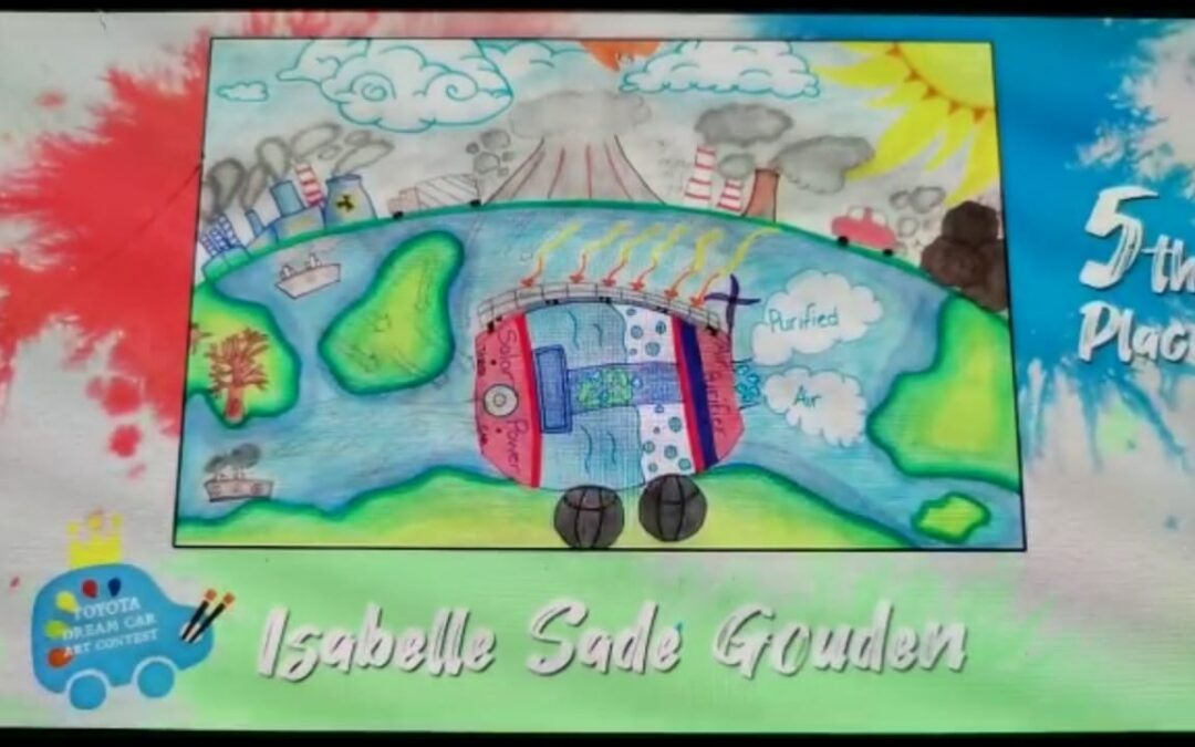 Well done to Isabelle Sade Gounden